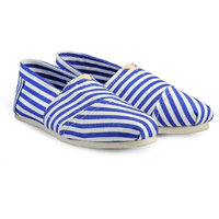 Juan David Men Blue Slip On Casual Shoes