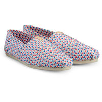 Juan David Men Blue Slip On Casual Shoes - 107812669