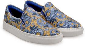 Juan David Men Blue Slip On Casual Shoes - 107812530