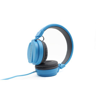 CORSECA DMHW3213 dynamic Over the Ear Wired Blue Headphones