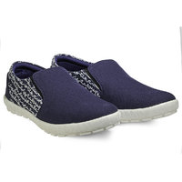 Juan David Men Blue Slip On Casual Shoes - 107813554