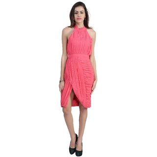 MansiCollections Halter Neck Dress