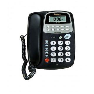 16 Memory Two-way Speaker Phone with Clock Phone
