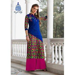 Multi color kurti for girls