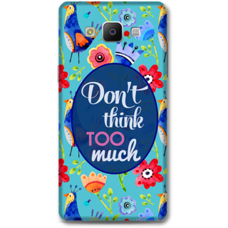 SAMSUNG GALAXY A5 2014 Designer Hard-Plastic Phone Cover From Print Opera - Don'T Think Too Much