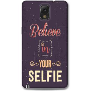 SAMSUNG GALAXY Note 3 Designer Hard-Plastic Phone Cover From Print Opera - Selfie