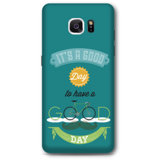 SAMSUNG GALAXY Note 5 Designer Hard-Plastic Phone Cover From Print Opera - Good Day