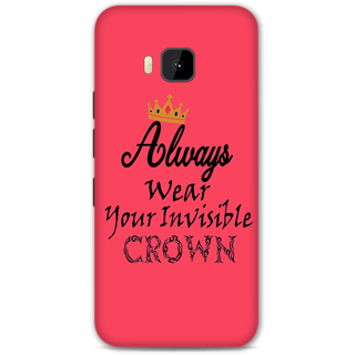 HTC One M9 Designer Hard-Plastic Phone Cover From Print Opera - Crown