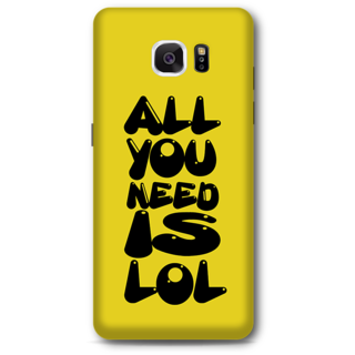 SAMSUNG GALAXY Note 5 Designer Hard-Plastic Phone Cover From Print Opera - All You Need Is Lol