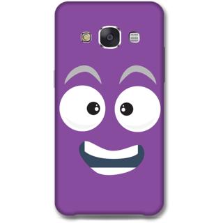 SAMSUNG GALAXY E7 Designer Hard-Plastic Phone Cover From Print Opera - Happy Face