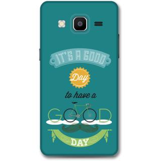 SAMSUNG GALAXY On 5 Designer Hard-Plastic Phone Cover From Print Opera - Good Day