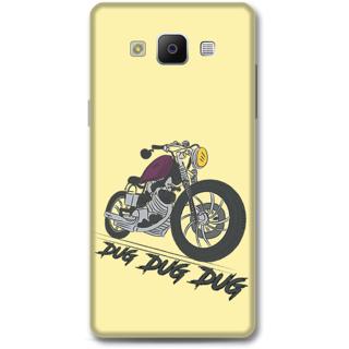 SAMSUNG GALAXY A5 2014 Designer Hard-Plastic Phone Cover From Print Opera - Dug Dug Dug