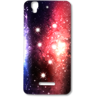MICROMAX YUREKA Designer Hard-Plastic Phone Cover From Print Opera - Floral