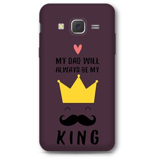 SAMSUNG GALAXY J5 2015 Designer Hard-Plastic Phone Cover From Print Opera - King