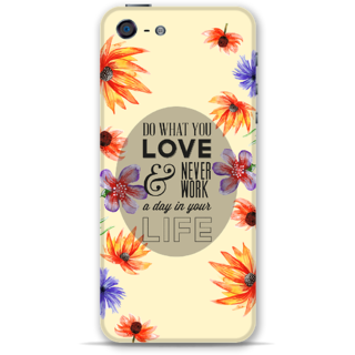 Iphone5-5s Designer Hard-Plastic Phone Cover From Print Opera - Never Work
