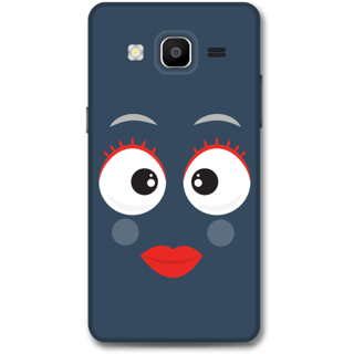 SAMSUNG GALAXY On 5 Designer Hard-Plastic Phone Cover From Print Opera - Shy Face