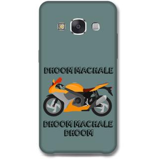 SAMSUNG GALAXY E7 Designer Hard-Plastic Phone Cover From Print Opera - Dhoom Machale