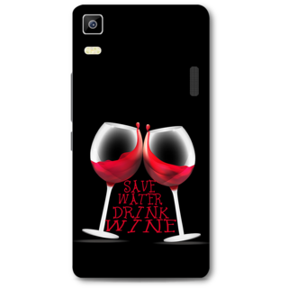 Lenovo K3 Note Designer Hard-Plastic Phone Cover From Print Opera - Wine Glasses