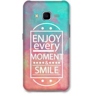 SAMSUNG GALAXY J7 2015 Designer Hard-Plastic Phone Cover From Print Opera - Enjoy Every Moment