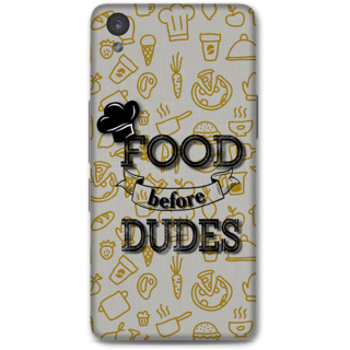 ONE PLUS X Designer Hard-Plastic Phone Cover From Print Opera - Food Dudes