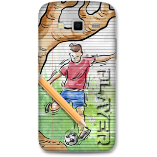 SAMSUNG GALAXY Grand 2 Designer Hard-Plastic Phone Cover From Print Opera - Sketch Art