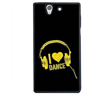 Fuson Designer Phone Back Case Cover Sony Xperia Z ( Showcase The Moves )