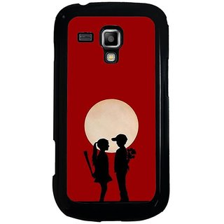 Fuson Designer Phone Back Case Cover Samsung Galaxy S3 Mini I8190  ( A Couples Confession In Moonlight )