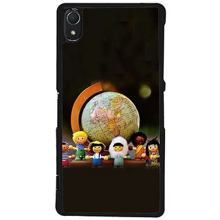 Fuson Designer Phone Back Case Cover Sony Xperia Z2 ( Children And Fun )