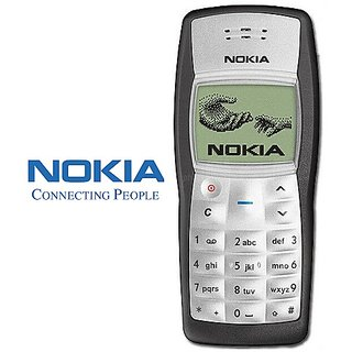 Nokia 1100 /Good Condition/ Refurbished Certified Pre Owned (6 months Seller Warranty)
