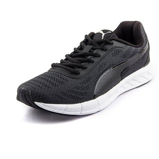 Puma Men'S Meteor IDP Black Mesh Running Shoes