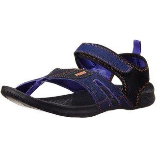 ebdcfb5cf5a5 Buy Puma Men S Jiff 5 Ind. Blue Synthetic Sandals Online   ₹2499 ...