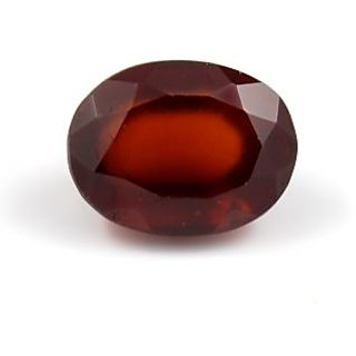 Be You 4.82 cts(5.3 ratti) Orange Color Faceted Oval Shape Natural Odisha Hessonite (Gomed)