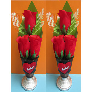 Fancy Flower Pot (Set of 2 Pcs.)