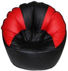 UK Bean Bags Mudda Chair Red Black Size XXXL