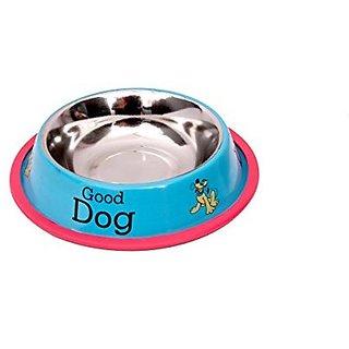 PETHUB Sky Blue Standard Dog Food Bowl -700ml- Small