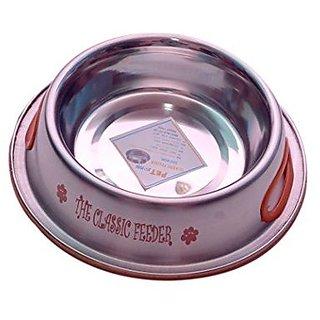 PETHUB QUALITY AND STYLISH DOG FOOD BOWL CLASSIC FEEDER 920ML