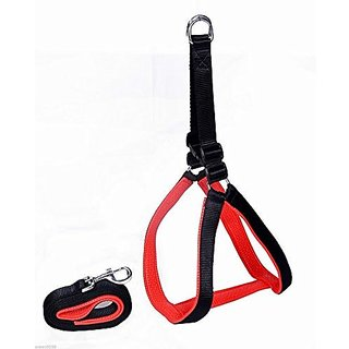 PETHUB High Quality And Stylish Nylon Dog Harness Small-Black