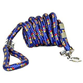 PETHUB High Quality And Stylish Dog Cord leash Small-Blue