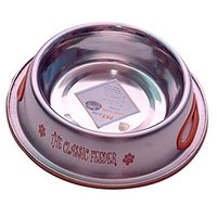 PETHUB QUALITY AND STYLISH DOG FOOD BOWL CLASSIC FEEDER 460ML
