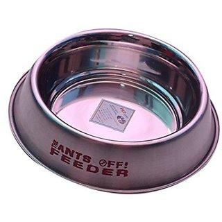 PETHUB QUALITY AND STYLISH DOG FOOD BOWL ANTS OF FEEDER 2900ML