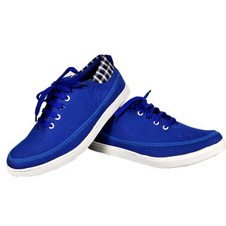 Kewl Instyle Men's Adorable Blue Shoes