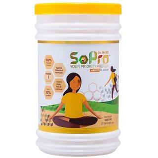 SoPro- On The Go 500gms Mango