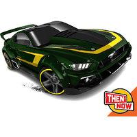hot wheels cars custom 15 ford mustang green
