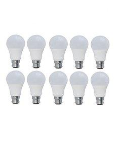 7W LED Bulb (Pack Of 10), White