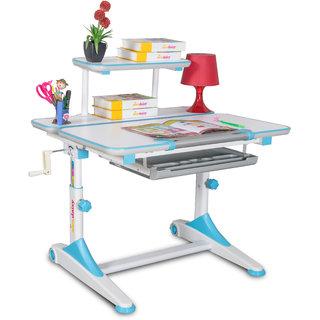 Alex Daisy Height Adjustable Study Table - iStudy - Blue