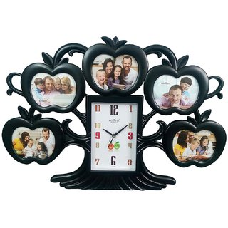 Buy Think 3 Designer Clock Large Size Apple Tree Wall Clock With