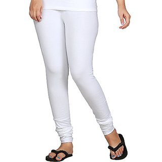 Cotton Lycra White Legging