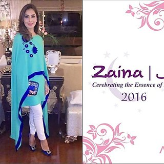 zaina cape top