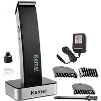 Kemei KM-619 Professional Trimmer For Men  (Black)
