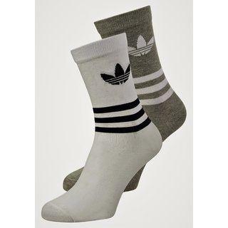 UNISEX ADIDAS ORIGINALS THIN CREW SOCK - PACK OF 2